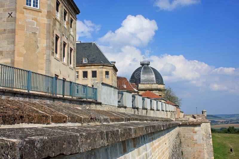 Langres, Frankrijk royalty-vrije stock foto's