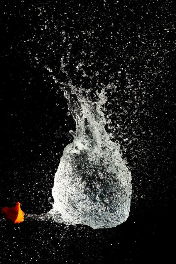 Langsame Bewegung des Wassers lizenzfreie stockfotos