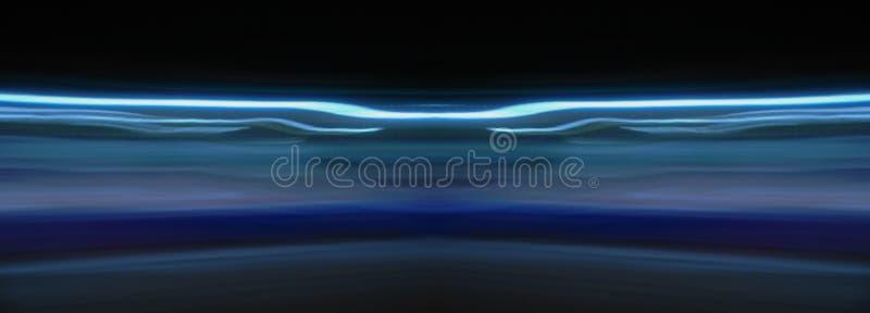 Langsames Fensterladenblaulicht lizenzfreies stockbild