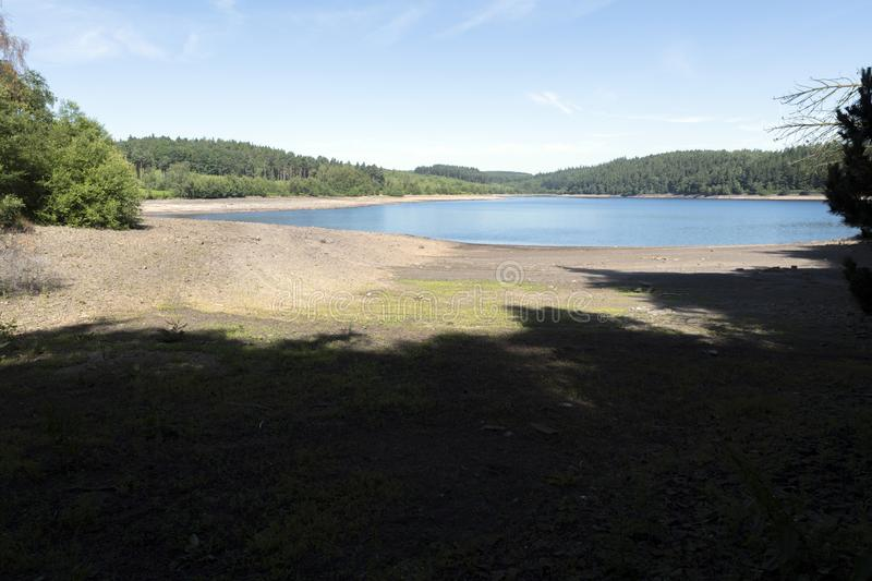Langsett Reservoir in South Yorkshire on the edge of the Peak District stock images