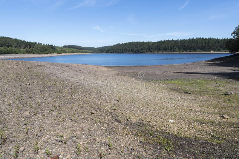 Langsett Reservoir in South Yorkshire on the edge of the Peak District royalty free stock photography