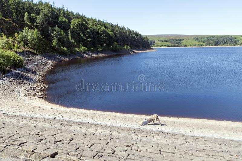 Langsett Reservoir in South Yorkshire on the edge of the Peak District stock photo