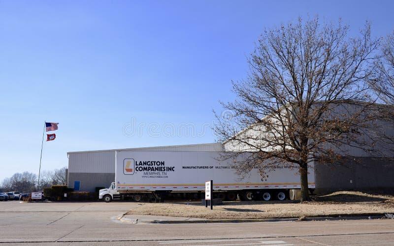 Langston Companies Inc , Memphis del oeste, Arkansas fotos de archivo libres de regalías