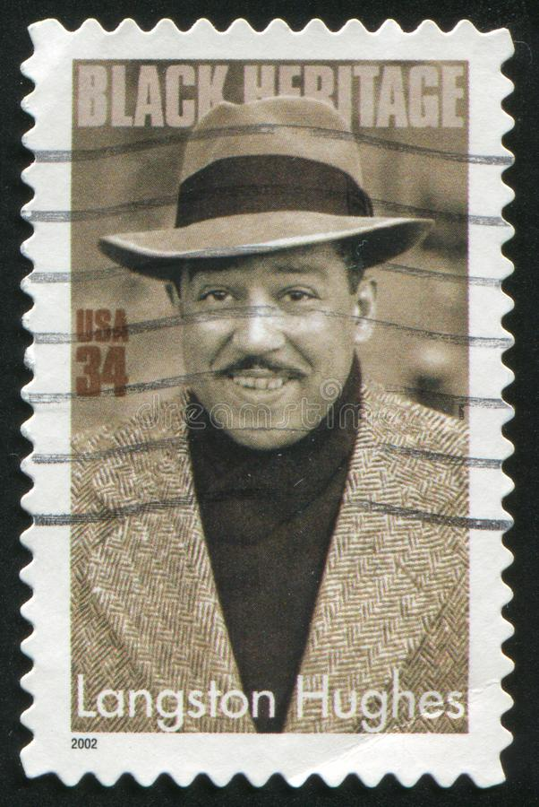 Langston Hughes photographie stock libre de droits