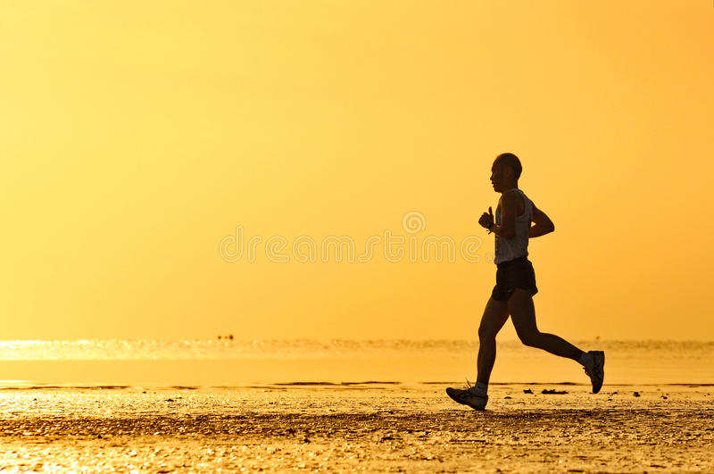 LangSuan Mini Marathon achtste stock afbeeldingen