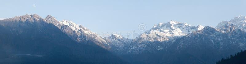langtang gór panorama fotografia royalty free