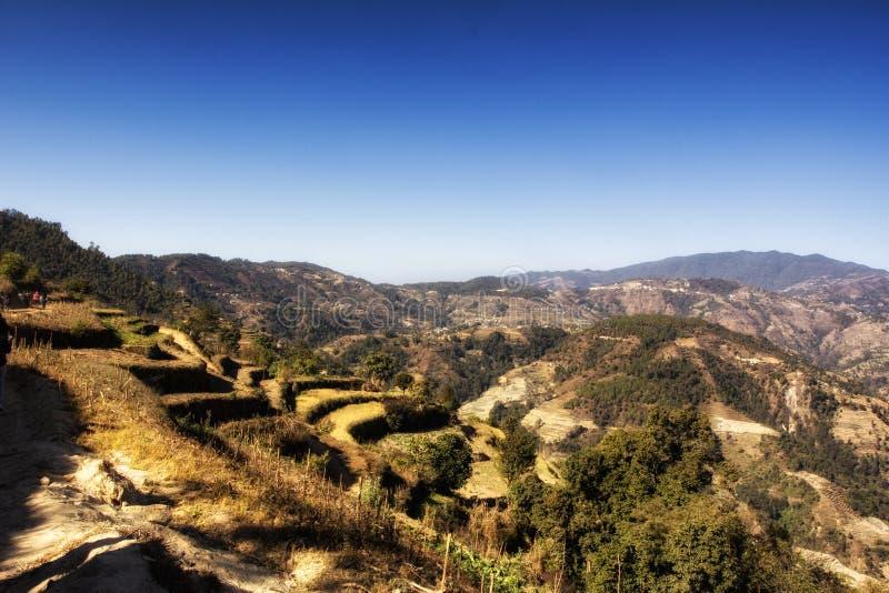 Langtang Himal foto de stock