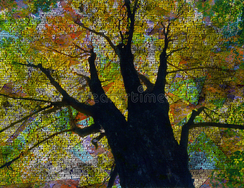 Download Language Tree stock illustration. Illustration of penman - 3307732