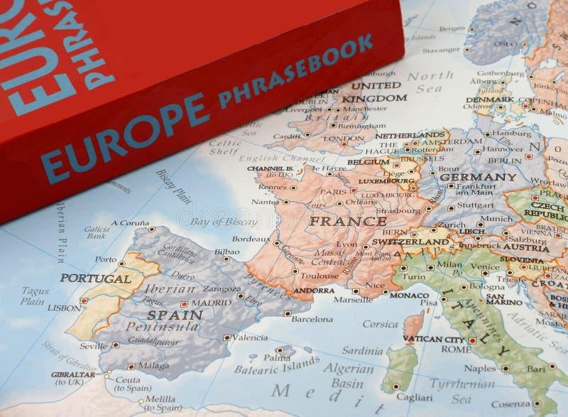 Langues européennes photographie stock