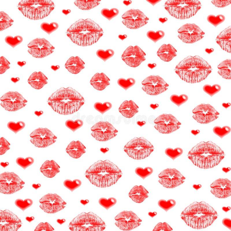 Languettes et coeurs image stock