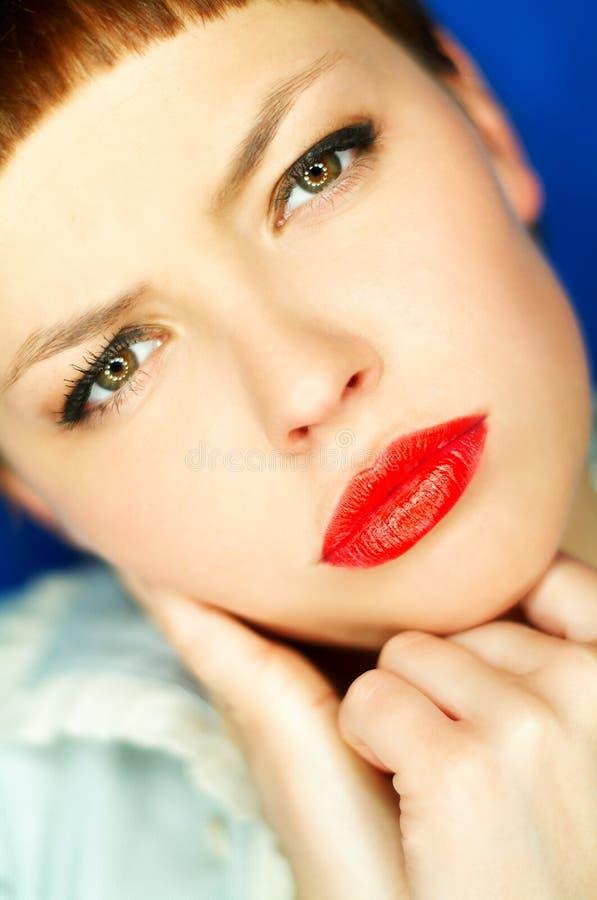 Download Languettes rouges photo stock. Image du bonheur, closeup - 726028