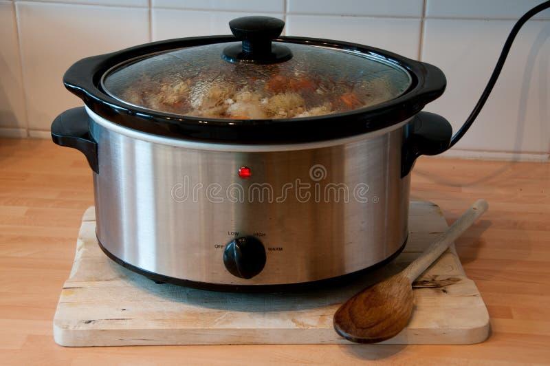 Langzaam Kooktoestel royalty-vrije stock afbeelding