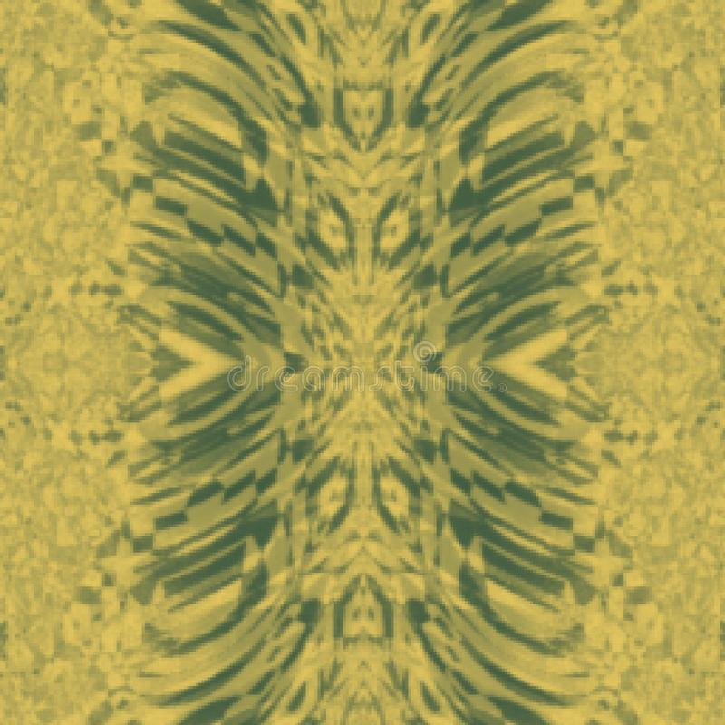 Langzaam verdwenen Grunge-tan stammen abstract patroon als achtergrond vector illustratie