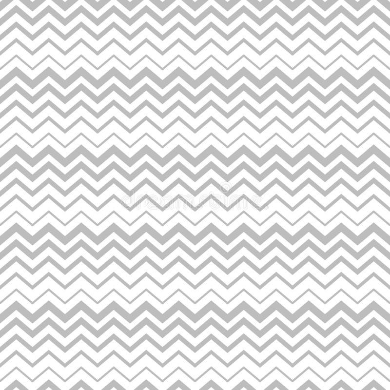Langzaam verdwenen zigzag vector naadloos patroon stock illustratie