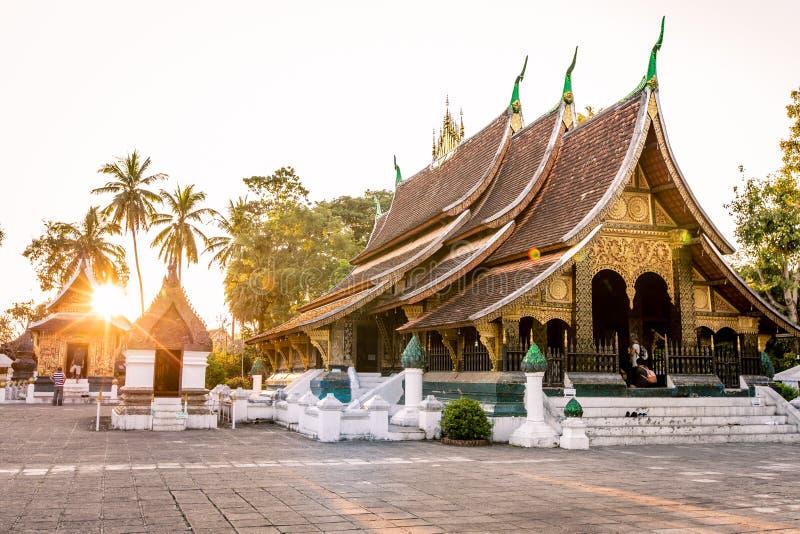 Lanière de Wat Xieng dans Luang Prabang photo stock
