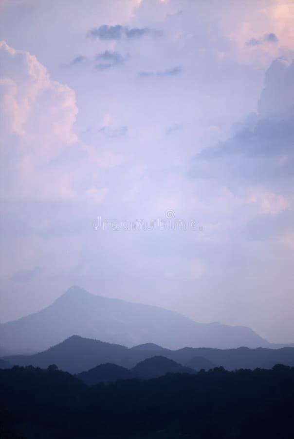 lanka purpurowy nieba sri zdjęcie royalty free
