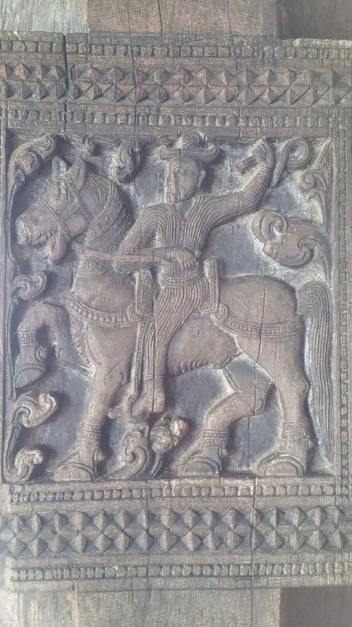 Lankan Kunstwerk Sri stockbild