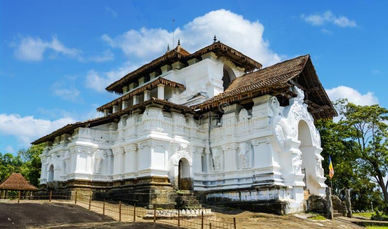 Lankathialaka-Tempel in Kandy, Sri Lanka stockfotos