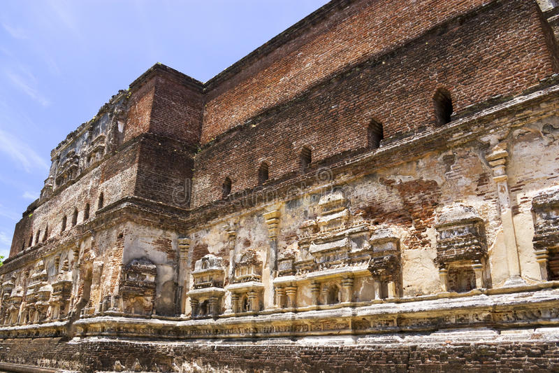 Lankatilaka, Polonnaruwa, Sri Lanka fotos de archivo libres de regalías