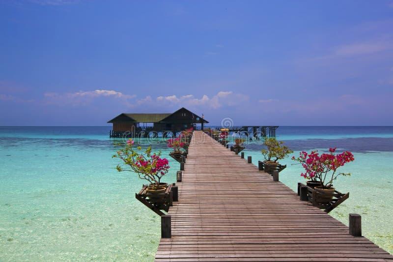Lankayan wyspa obrazy royalty free
