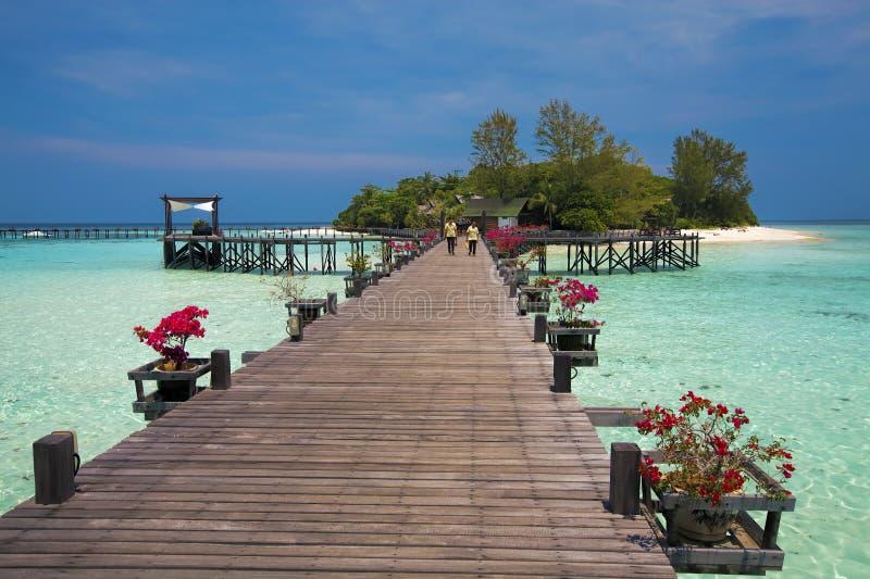Lankayan wyspa fotografia royalty free
