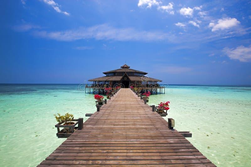 Lankayan wyspa zdjęcie royalty free