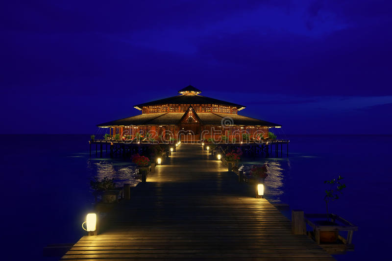 Lankayan wyspa obraz royalty free