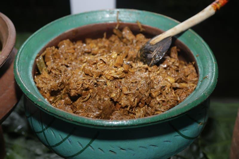 Lankijczyka sinhala jedzenia polo obraz stock