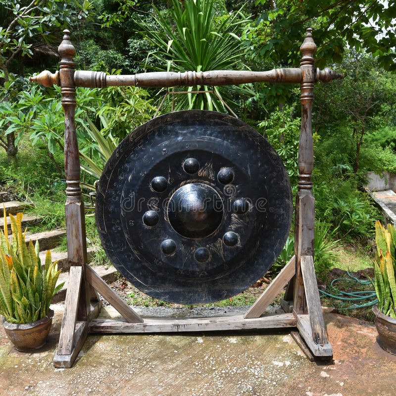 Lanna gong royaltyfria foton