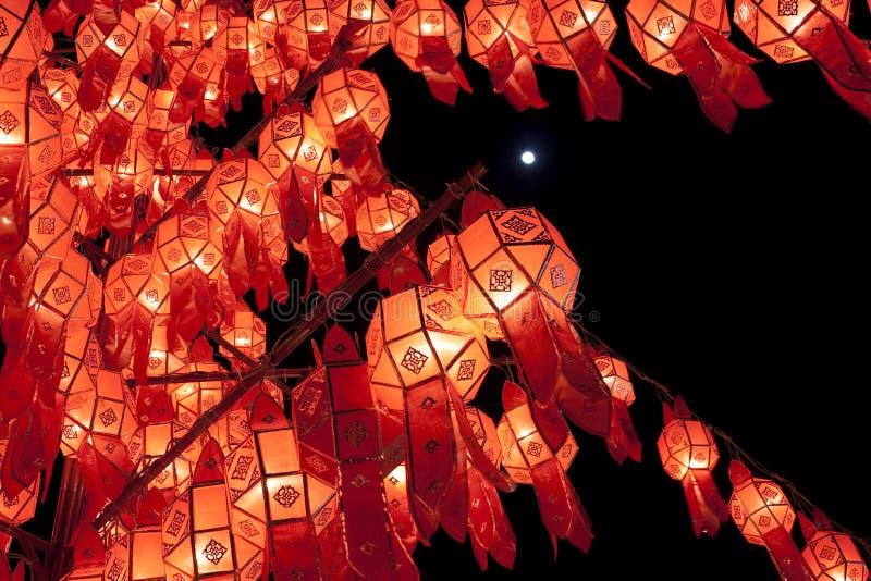 Lanna lampiony zdjęcie royalty free