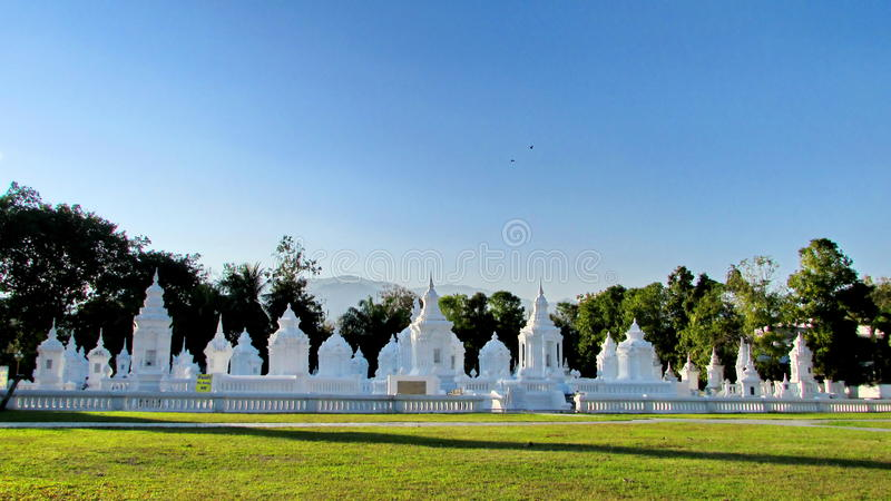 Lanna Stupas stock image