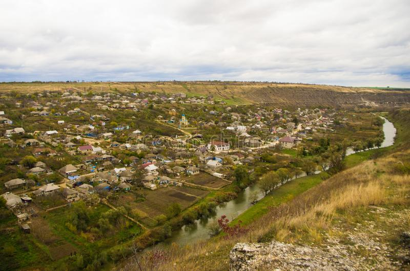 lanscape obszarów wiejskich zdjęcie royalty free