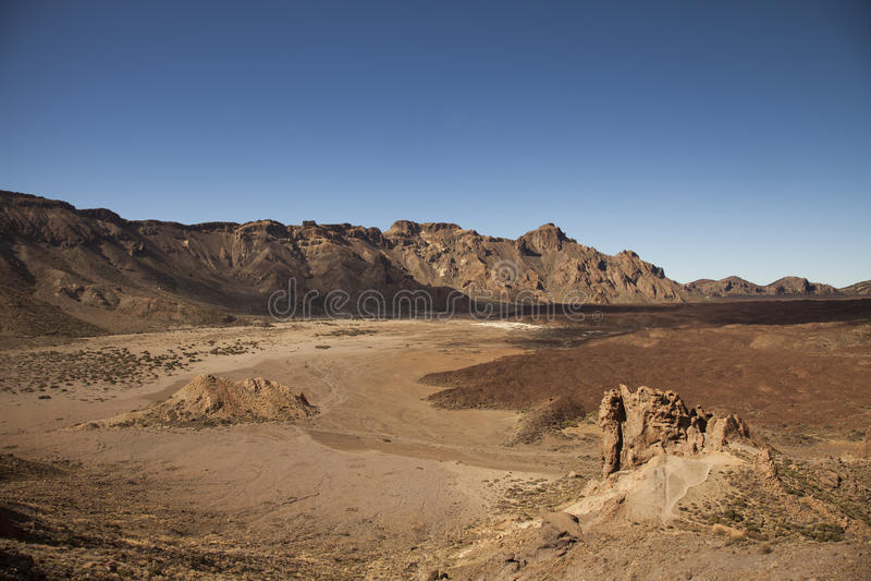 Lanscape in Tenerife royalty free stock photos