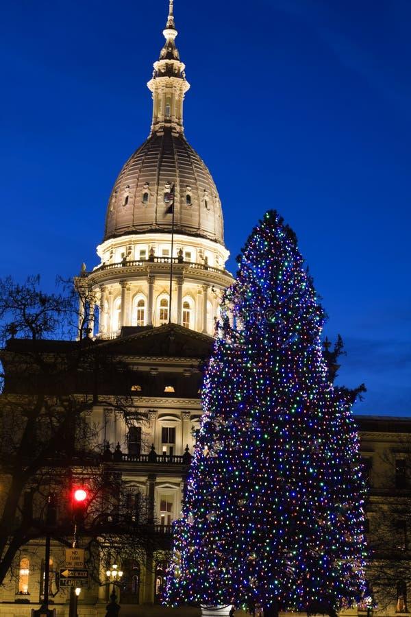 Lansing, Michigan - capitol d'état image libre de droits