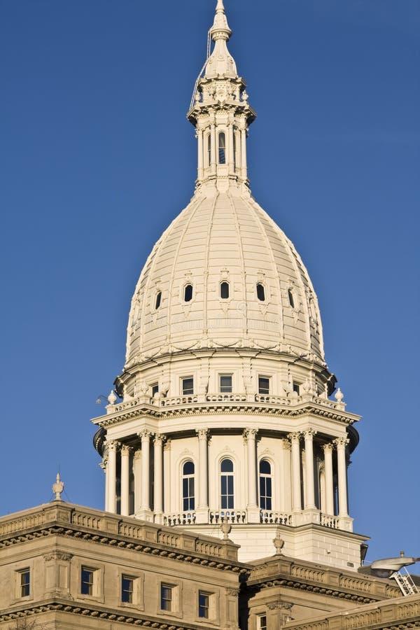 Lansing, Michigan - het Capitool van de Staat royalty-vrije stock afbeeldingen