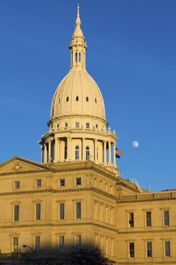 Lansing, Michigan - State Capitol. State Capitol of Michigan in Lansing royalty free stock images
