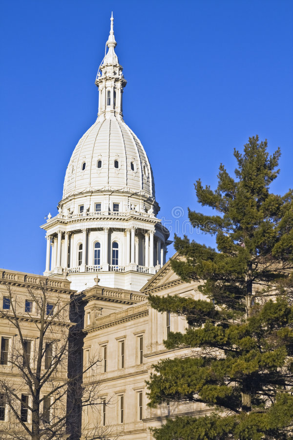 Lansing, Michigan - State Capitol royalty free stock images