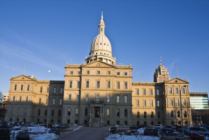 Lansing, Michigan - State Capitol. State Capitol of Michigan in Lansing royalty free stock image