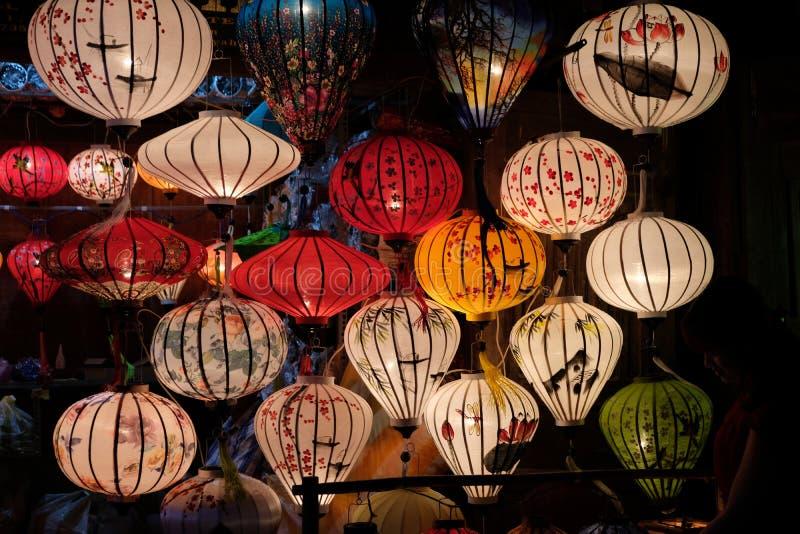 Lantaarns in Hoi An royalty-vrije stock foto
