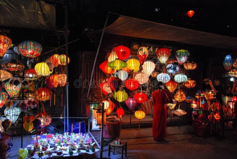 Lanter en Hoi An, Vietnam images libres de droits