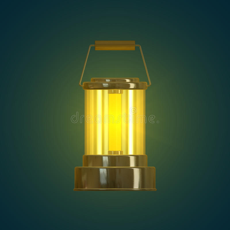Lantern stock illustration