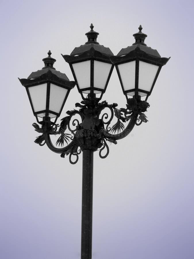 Download Lantern stock photo. Image of hanging, post, retro, ornate - 12310666