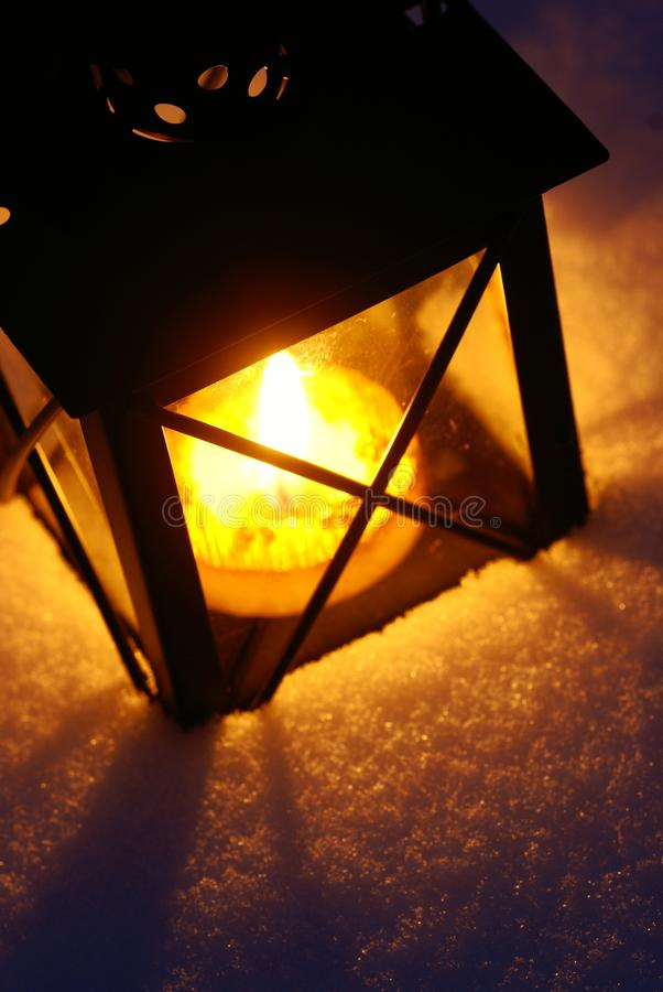 Download Lantern stock photo. Image of lantern, evening, winter - 33404030