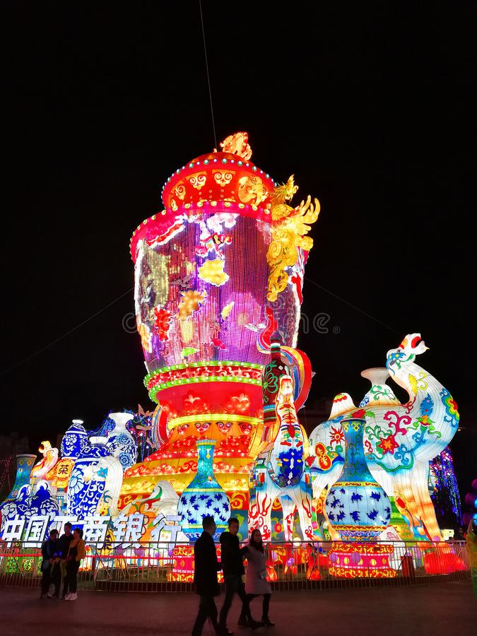 Free Lantern Festival In Zigong, China Royalty Free Stock Photography - 106800177