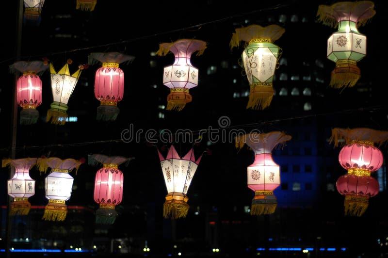 Lantern Festival in Singapore royalty free stock image