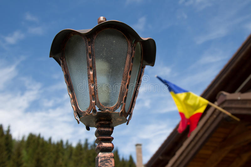 Download Lantern for garden stock photo. Image of flag, outdoor - 32432878
