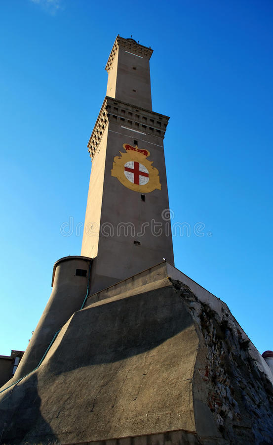 Lantern of Genoa. The symbol stock photography