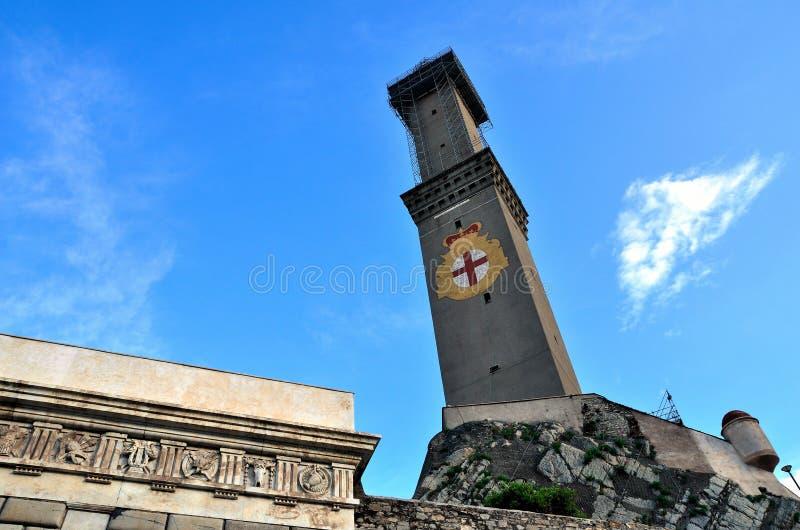 Lantern of Genoa. Italy: the symbol royalty free stock photos