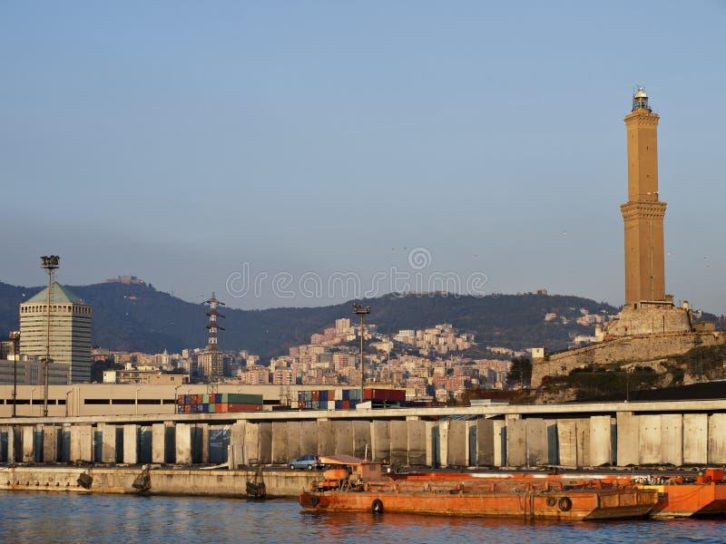 Lantern of Genoa stock photography