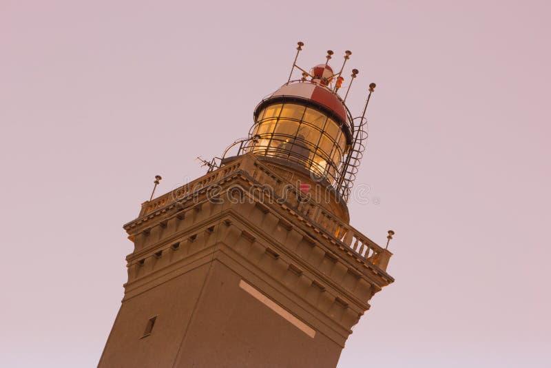 The lantern of Genoa stock photos